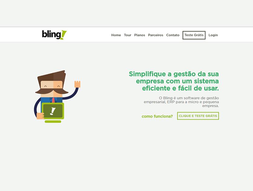 Bling lança novo site com foco na usabilidade